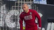 Rosina solo davanti alla porta dell'Udinese manca l'impatto con il pallone
