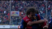 Rossi firma il goal della sicurezza contro il Cagliari