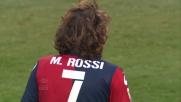 Rossi in scivolata atterra Di Natale procurando un rigore per l'Udinese