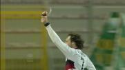 Rossi segna il goal che chiude la partita contro il Lecce