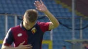 Rosso per Lazovic: il Genoa rimane in dieci contro l'Empoli
