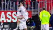 Kovacic segna un bel goal al Sant'Elia contro il Cagliari