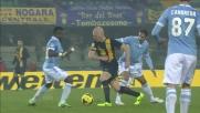 Hallfredsson, dribbling caldo con la Lazio