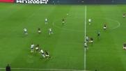 Ruvido contrasto aereo tra Luiz Adriano e Bisevac in Milan-Lazio