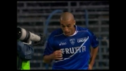 Il goal del 3-1 di Almiron chiude la sfida del Castellani tra Empoli e Cagliari