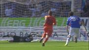 Tissone realizza un goal dalla distanza e ristabilisce la momentanea parità al Marassi