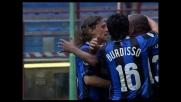Crespo realizza una tripletta contro la sua ex squadra: è il goal del 3-3 tra Inter e Lazio