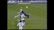 Rocchi imita Higuita, scorpione contro l'Udinese
