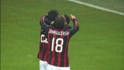 Kakà realizza il quinto goal del Milan contro l'Udinese