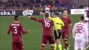 Espulsione per faIlo di mano di Marquinhos contro il Milan