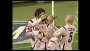 Il goal di Bresciano porta in vantaggio il Palermo sull'Ascoli
