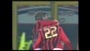 Goal fantastico di Kakà, la sua prodezza porta in vantaggio il Milan sul Treviso
