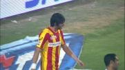 Munari vicino al goal con un rimpallo contro la Lazio