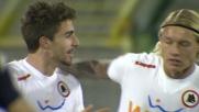 Borini goal e la Roma passa in vantaggio a Cagliari