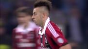 Il bel goal di El Shaarawy accorcia le distanze del Milan al San Paolo