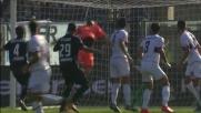 Petagna svetta di testa, ma Perin gli nega il goal