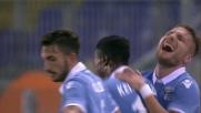 Immobile sfrutta gli errori del Cagliari e realizza il goal del 3-0