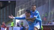 Il goal di Callejon chiude la partita tra Napoli e Verona