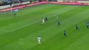 Nel tempo di recupero il Carpi acciuffa l'Inter con il goal in diagonale di Kevin Lasagna
