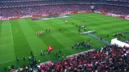 safety training nello stadio del Benfica