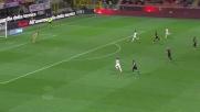 Salah è imprendibile e porta in vantaggio la Roma contro il Milan