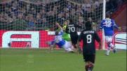 Sampdoria 0 Milan 1: rete di Robinho!