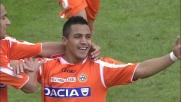 Sanchez castiga Gillet con goal capolavoro al San Nicola di Bari