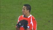Sanchez espulso in Juventus-Udinese per un entrata in ritardo
