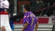 Santana firma il successo viola contro il Genoa