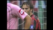 Santoni si oppone a Gilardino e salva il Palermo a San Siro
