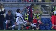 Saponara, folle scivolata su Laxalt: punizione per il Genoa