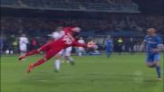 Saponara segna il goal del momentaneo pareggio in Empoli-Milan