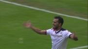 Sau fa goal sull'errore della difesa dell'Inter