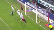 Sau in contropiede beffa Frey segnando il goal del pareggio