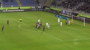 Sau sbaglia e poi segna il goal del vantaggio del Cagliari sul Sassuolo