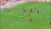 Sau segna un super goal per agganciare il Napoli