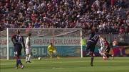 La punizione rasoterra di Joao Pedro finisce in goal