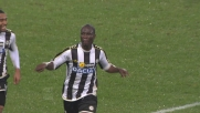 Al Friuli Badu cala il tris per l'Udinese dopo un'azione fantastica