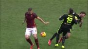 Scontro tra compagni di squadra in Roma-Verona