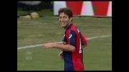 Sculli capitalizza l'assist di Milito e segna il goal del 3-0