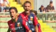 Sculli scatena il Marassi realizzando il goal del vantaggio contro il Milan