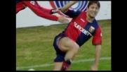 Sculli sfrutta il cross di Gasbarroni e di testa segna il goal dell'1-0