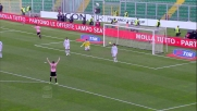 Secondo goal di testa per Budan  e 2-0 del Palermo al Novara