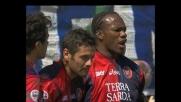 Sempre Suazo! Goal perfetto su calcio di rigore per il Cagliari contro il Parma