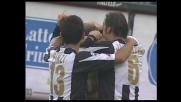 Sensini da terra segna il goal della rimonta sulla Fiorentina