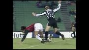 Sensini spinge Inzaghi: fallo e cartellino rosso all'Udinese