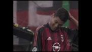 Serginho spreca un rigore contro il Perugia calciandolo alto