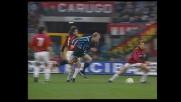 Serpentina di Bergkamp nel derby di Milano