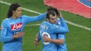 Sesto goal del Napoli contro il Cagliari. Anche Maggio entra nei marcatori