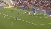 La girata di Palacio vale il goal del vantaggio iniziale del Genoa a Novara